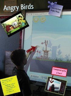 Angry Birds in our class