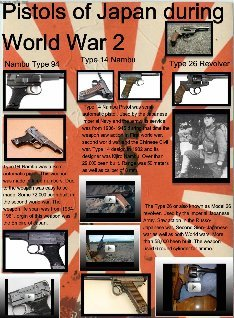 japanese pistols of world war 2 of history