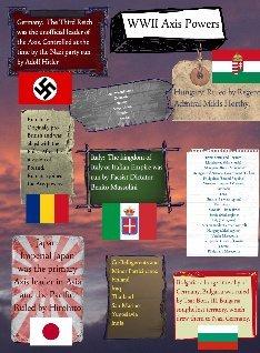 wwii axis powers: text, images, music, video | Glogster EDU ...