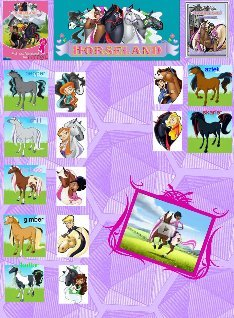 horseland: text, images, music, video | Glogster EDU