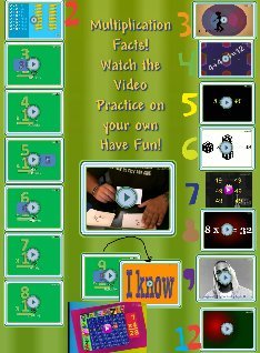 Multiplication Facts video's