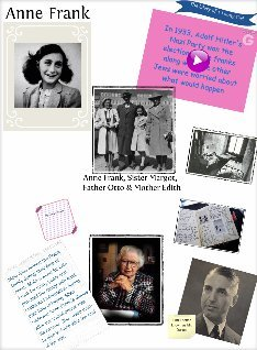 Anne frank text images music video glogster edu for Anne frank musical